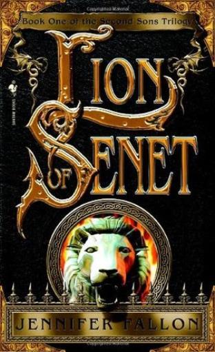 Bantam Novel Second Sons Trilogy #1 - Lion of Senet SC VG