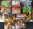 Heavy Metal Magazine 2007 Collection - 8 Issues