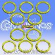 32mm Agility Skill Rings - Yellow