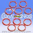 32mm Strength Skill Rings - Red