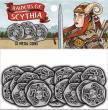 Raiders of Scythia Metal Coins