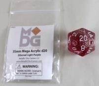 Mega Light Purple w/White