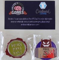 Free RPG Day Pins (Free RPG Day 2016)