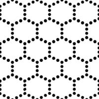 "1 1/2"" Hex Mat - Sea, No Wave Pattern"
