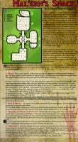 October 2015 One Page Dungeon - Mal'ern's Shack