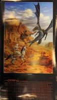 2003 Calendar w/Desert Battle, Autographed by Artist!
