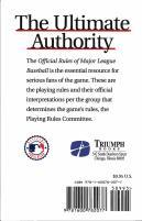 2009 Official Rules of Major League Baseball