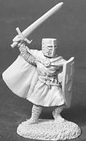Knight Templar w/Sword & Shield