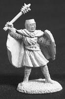 Knight Templar w/Mace & Shield