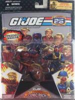 25th Anniversary Comic Pack - Crimson Guard & Scarred Cobra Officer