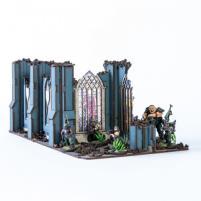 Urbes Mortis Ruins 02 (Pre-Painted)