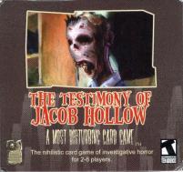 Testimony of Jacob Hollow, The