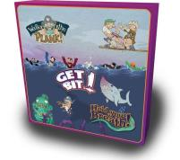 3 in 1 Collector Set - Get Bit! Hold Your Breath! and Walk the Plank!