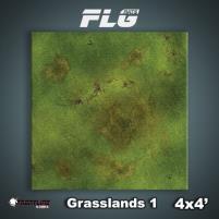 4' x 4' - Grasslands #1