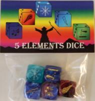 Five Elements Dice (5)