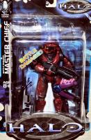 Battle Damaged Master Chief w/Assault Rifle, Sniper Rifle, & Needler (Limited Edition)