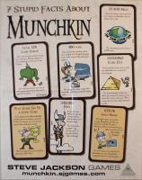 7 Stupid Facts About Munchkin Poster