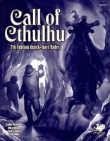 Call of Cthulhu 7th Edition Quick - Start Rules