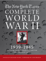 New York Times Complete World War II, 1939-1945 w/DVD-Rom