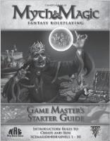 Game Master's Starter Guide