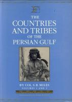 Countries and Tribes of the Persian Gulf, The - Vol. 1 & 2