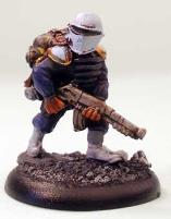 Muster - Looking Private, Pre-Painted (Limited Edition)