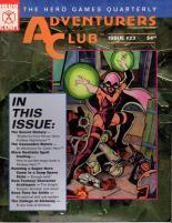 "#23 ""New Fantasy Character Archetypes, Cyber Hero Adventure"""