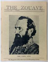 """Vol. 1, #5 """"Stonewall Jackson - The Man and His Achievements"""""""