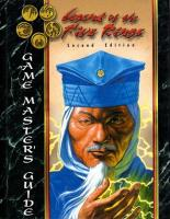 Game Master's Guide (2nd Edition)