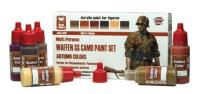 Waffen SS Camo Paint Set - Autumn Colors