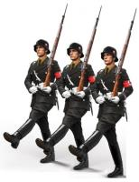 Soldat im Stechschritt, 1939 (1:48)