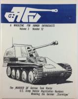 "Vol. 3, #12 ""M-3/T-12 75mm Gun Motor Carriage, Modeling of the German Sturmtiger, 7.5cm Pak 40/3 Marder 38"""