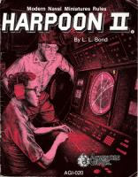 Harpoon II & Ship, Aircraft, Weapon and Sensor Specifications