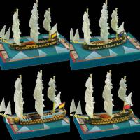 Sails of Glory - Series III, Complete Collection! (4 Packs)