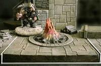 6x6cm Dungeon Floor Fire Pit