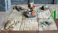 3x3cm Dungeon Character Floors