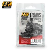 Trains - Locomotive & Wagon Weathering Set