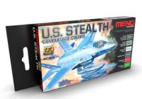 U.S. Stealth Camouflage Colors Set