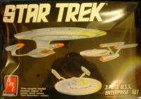3-Piece U.S.S Enterprise Set