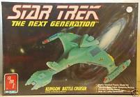 Star Trek - The Next Generation - Klingon Battle Cruiser
