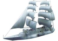 """Baraccuda Ship - """"Conan, the Boy in Future"""""""