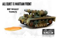 British Wicket Tank (1st Printing)