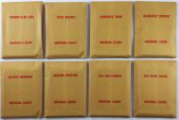 APBA Baseball 1977 Player Cards - Complete Set (1978 Printing)