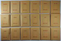 APBA Baseball 1986 Player Cards - Complete Set (1987 Printing)