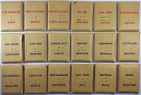 APBA Football 1972 Player Cards