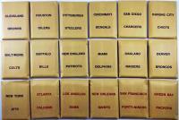 APBA Football 1974 Player Cards