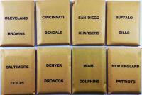 APBA Football 1975 Player Cards