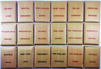APBA Football 1976 Player Cards