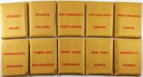 APBA Football 1978 Player Cards
