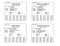 APBA Saddle Racing Horses & Jockeys (1988 Season)